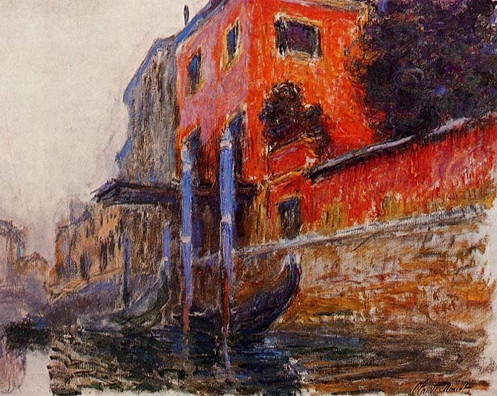 Claude Monet, The Red House, 1908