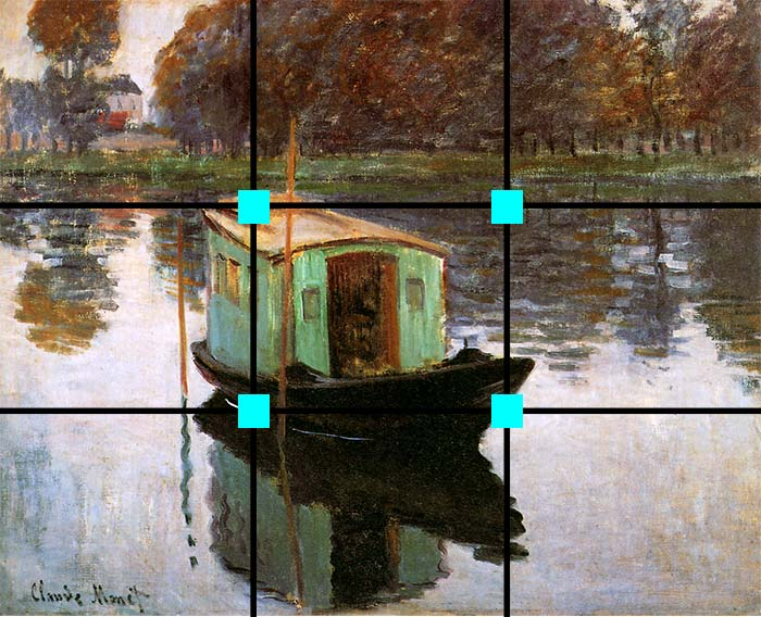 The Studio Boat, Claude Monet, 1874