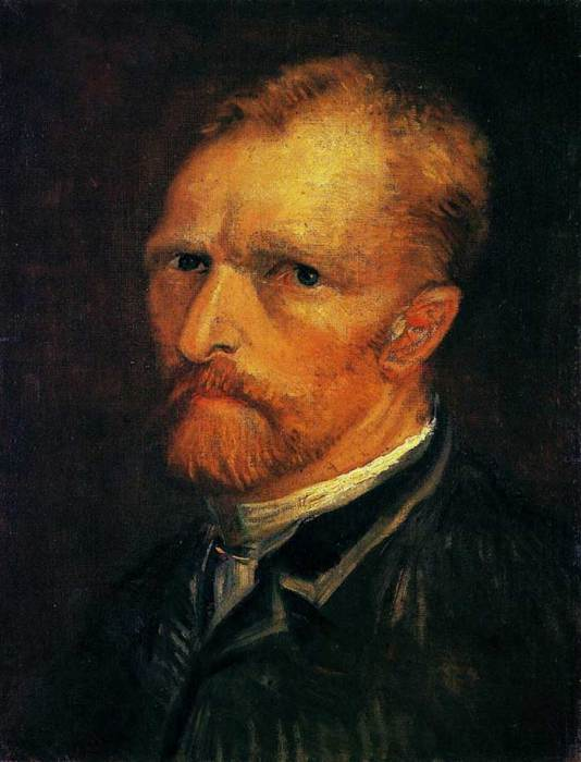 1. Vincent van Gogh, Self-Portrait, 1886