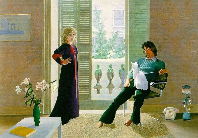 Mr. and Mrs. Clark and Percy, David Hockney 1970-1