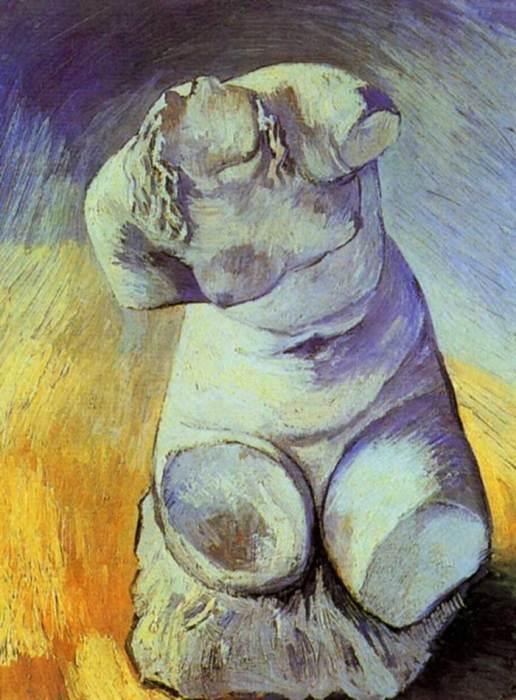 Vincent van Gogh, Plaster Statuette Of A Female Torso, 1887