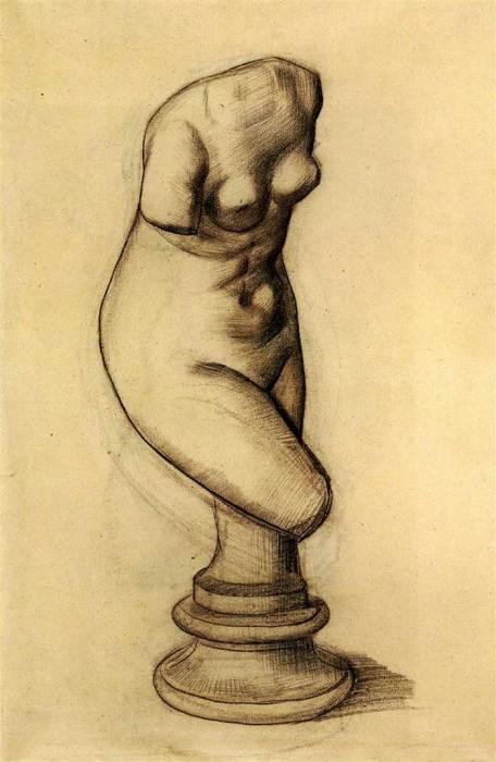 Vincent van Gogh, Torso Of Venus, 1886