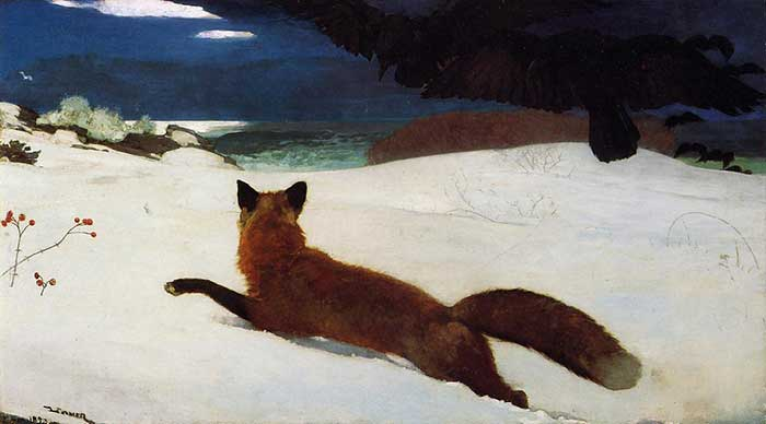 Winslow Homer, The Fox Hunt, 1893