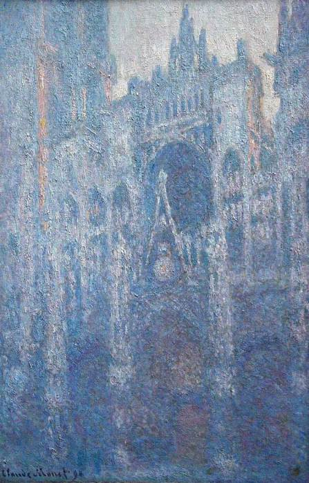 12. Claude Monet, Rouen Cathedral, Clear Day, 1894