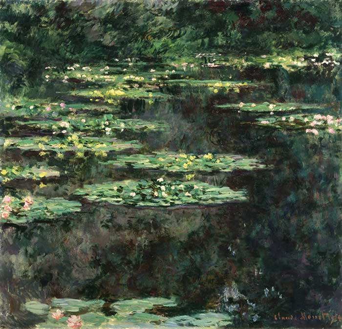 14. Claude Monet, Water Lilies (5), 1904