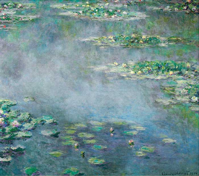 18. Claude Monet, Water Lilies, 1906