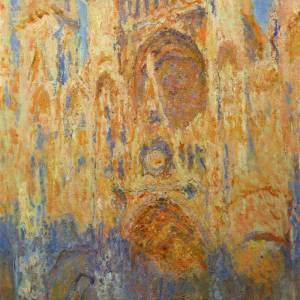 2. Claude Monet, Rouen Cathedral, 1892-1893
