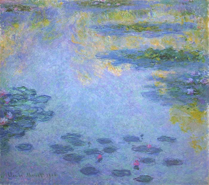 20. Claude Monet, Water Lilies (3), 1906