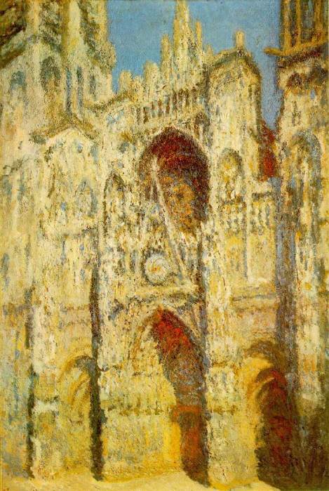 27. Claude Monet, Rouen Cathedral, The Gate And The Tower, 1894