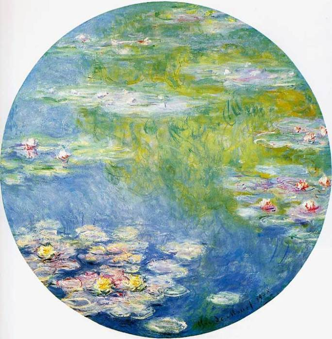 29. Claude Monet, Water Lilies (2), 1908