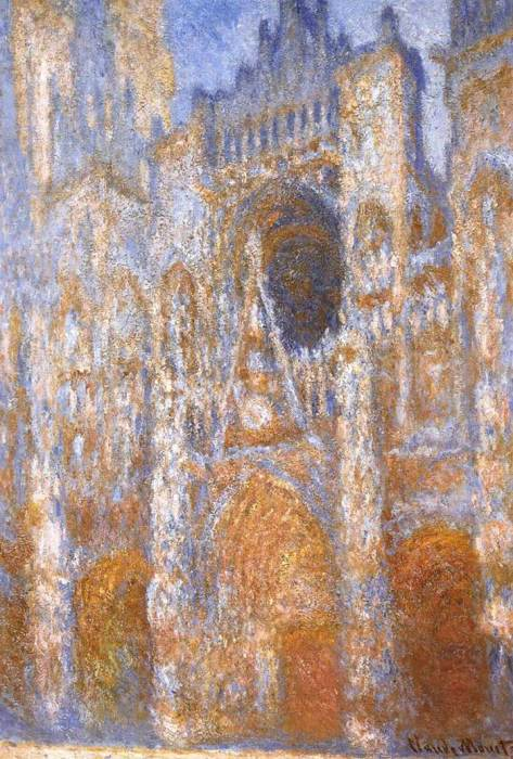 3. Claude Monet, Rouen Cathedral, The Portal At Midday, 1893