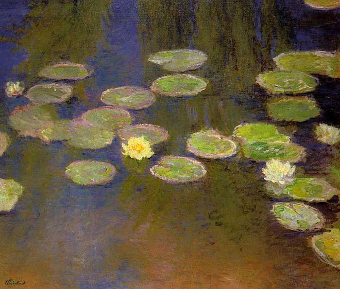 3. Claude Monet, Water Lilies (3), 1897-1899