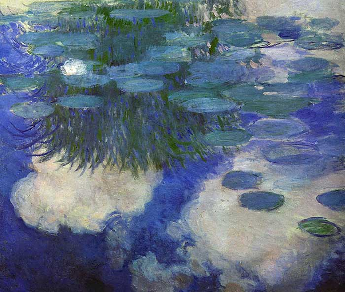 33. Claude Monet, Water Lilies (2), 1914