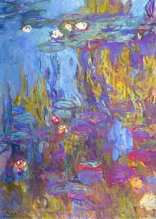39. Claude Monet, Water Lilies (5), 1914-1917