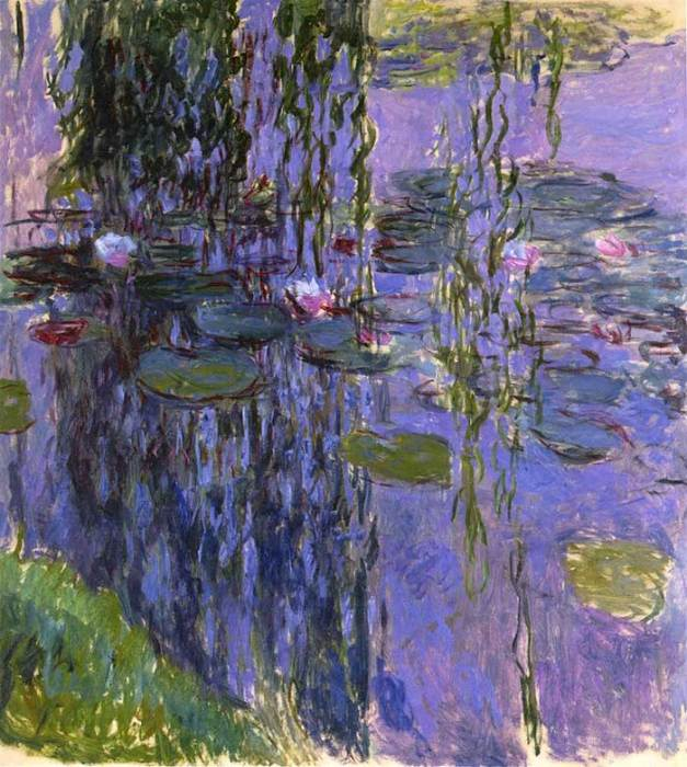 46. Claude Monet, Water Lilies (3), 1916-1919