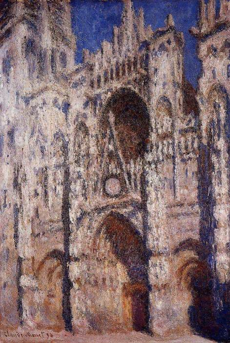 5. Claude Monet, Rouen Cathedral 01, 1894