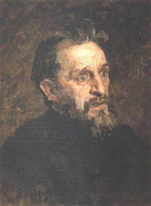 Ilya Repin, Portrait Of Painter Grigory Grigoryevich Myasoyedov, 1883