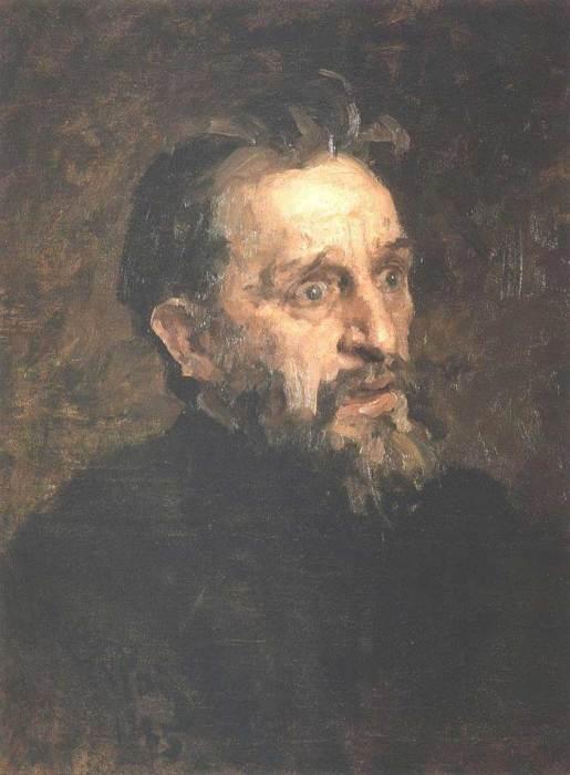 Ilya Repin, Portrait Of Painter Grigory Grigoryevich Myasoyedov, 1883