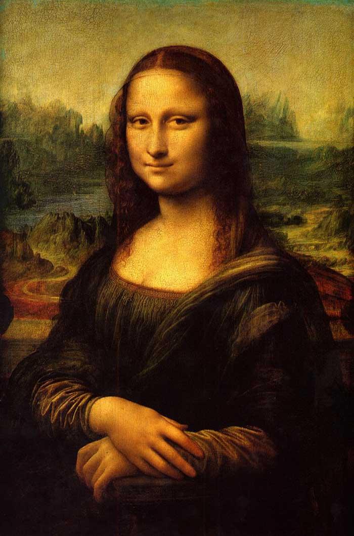 Leonardo da Vinci, Mona Lisa, 1504