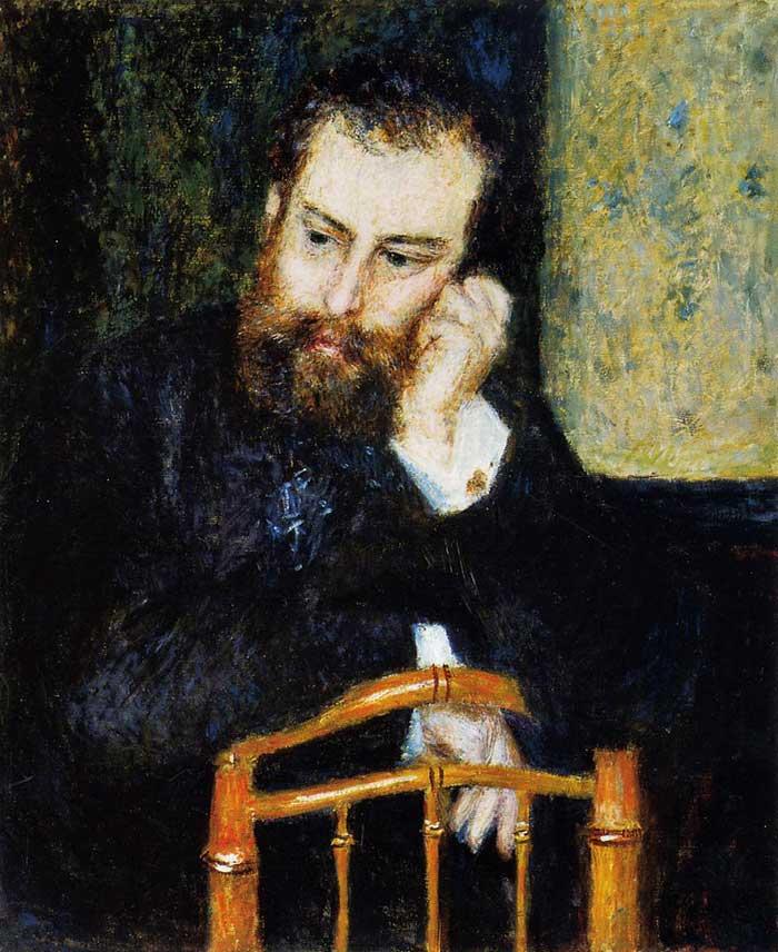 Pierre-Auguste Renoir, Alfred Sisley, 1876