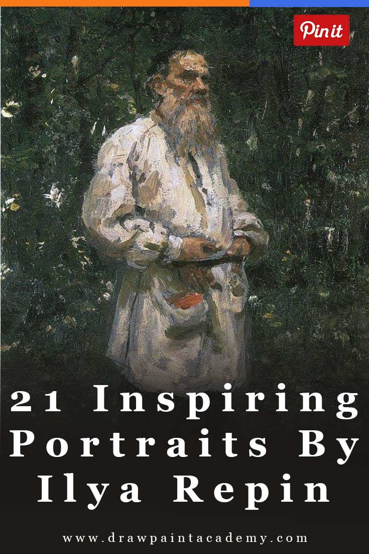 21 Inspiring Portrait Paintings By Ilya Repin