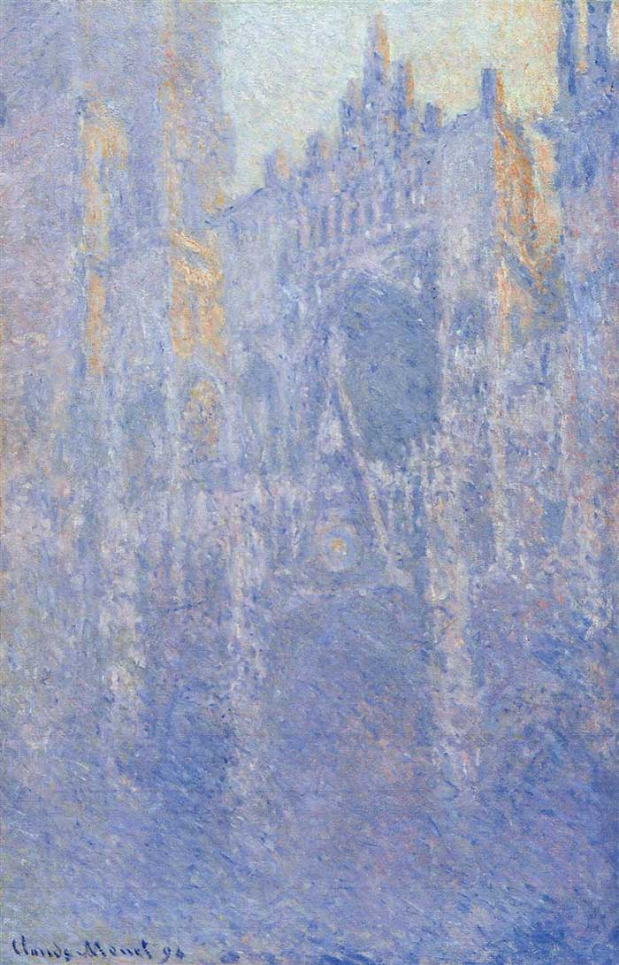 Claude Monet, Rouen Cathedral, The Portal, Morning Fog, 1894
