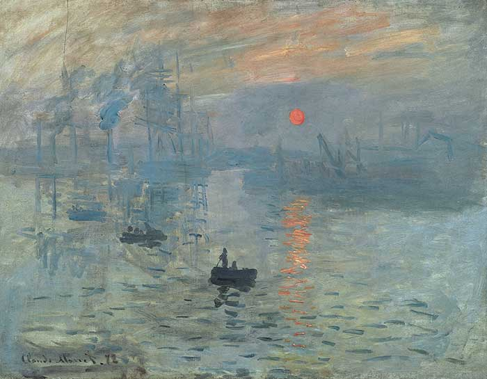 Claude Monet, Impression, Sunrise, 1872