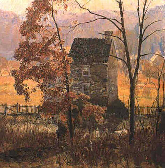 Daniel Garber, An Autumn Afternoon, 1930