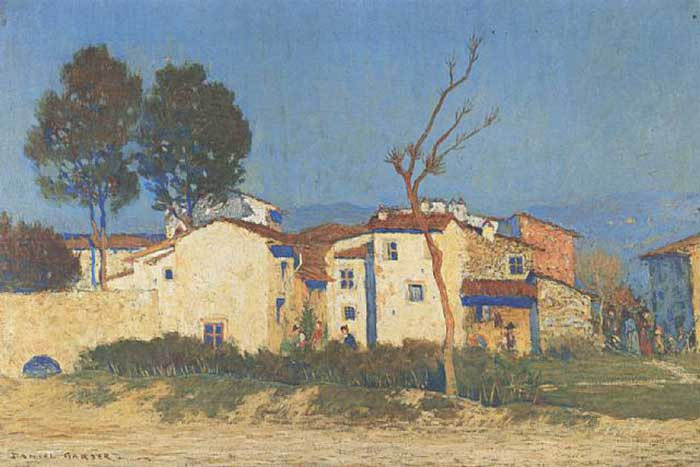 Daniel Garber, Evening - Tuscany, 1906