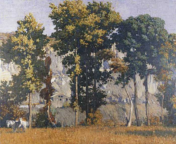 Daniel Garber, Quarries At Byram, 1907