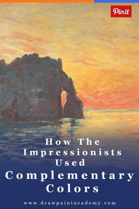 How The Impressionists Used Complementary Colors To Stunning Effect