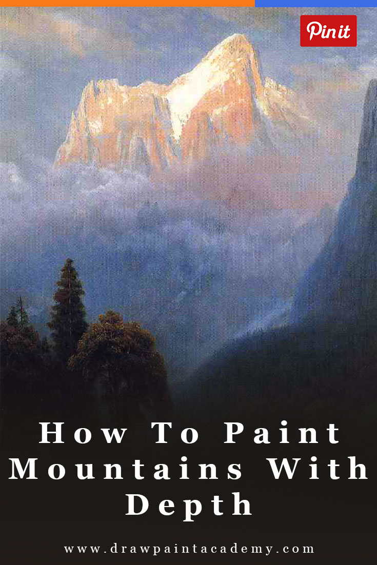 How To Paint Mountains With Depth