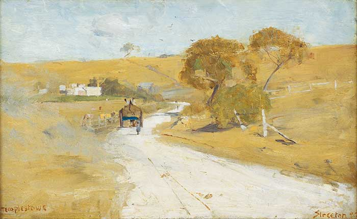 High Key Painting | Oil Painting For Beginners | Landscape Painting | Arthur Streeton, At Templestowe, 1889