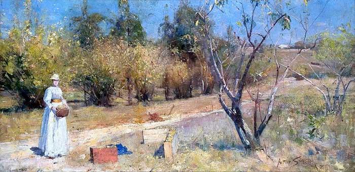 Arthur Streeton, Autumn, 1889