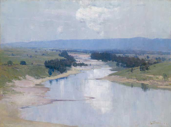 Arthur Streeton, The River, 1896