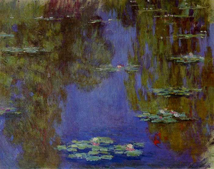 Claude Monet Water Lilies 1903