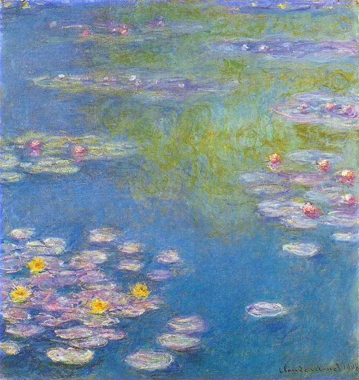 Analogous Color Palette | Claude Monet, Water Lilies, 1908
