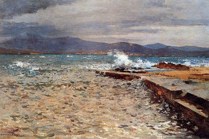 Cornelis Vreedenburgh, Pier Inn The Bay Of St Tropez