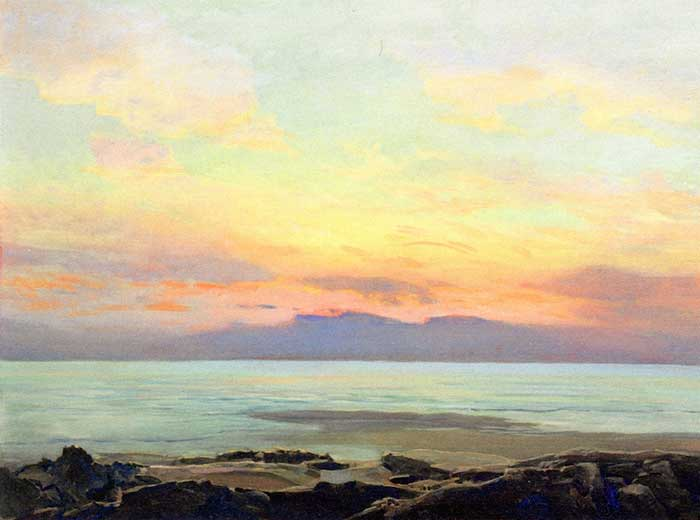 Frederick Judd Waugh - At Sunrise
