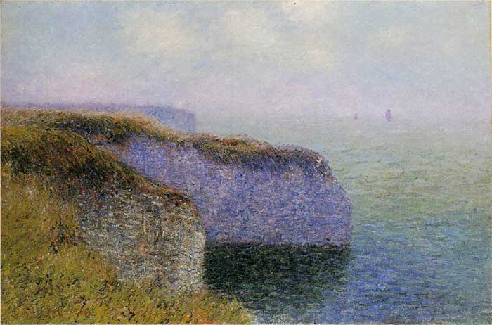 Gustave Loiseau, Cliffs Of Etretat, 1902