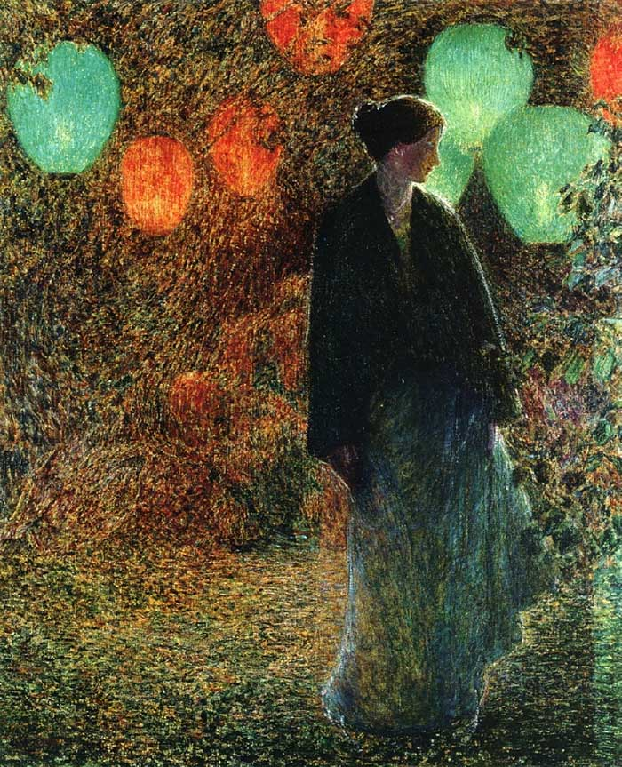 Childe Hassam, July Night, 1898
