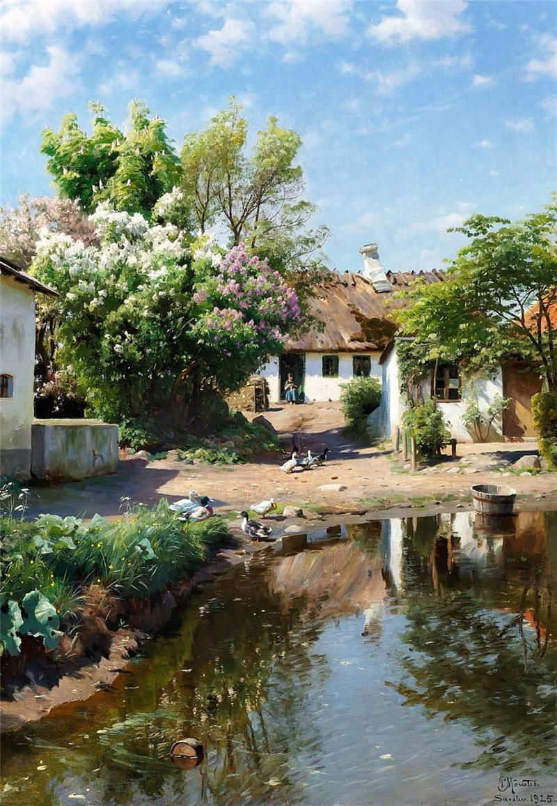 Peter Mork Monsted, Rural Landscape