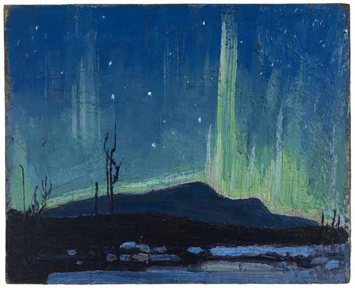 Tom Thomson, Northern Lights, 1917