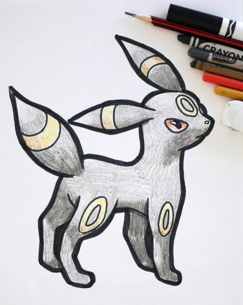 Umbreon Drawing