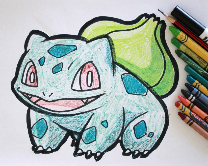 Bulbasaur Drawing