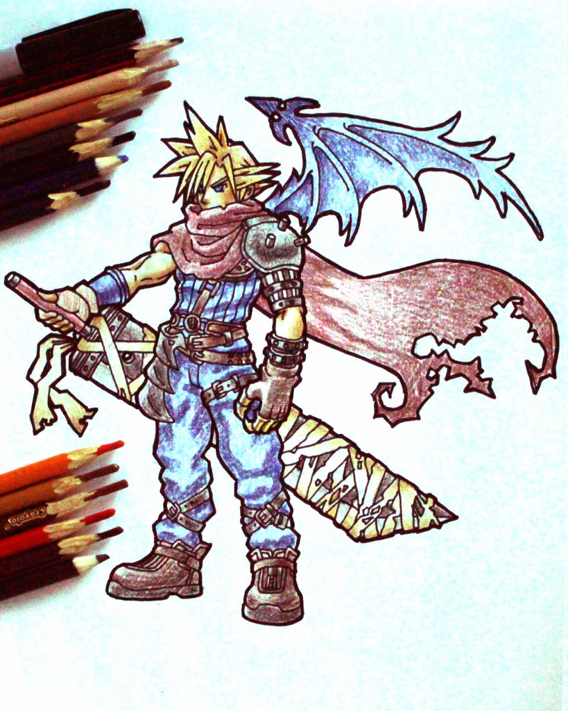 Cloud Strife Drawing
