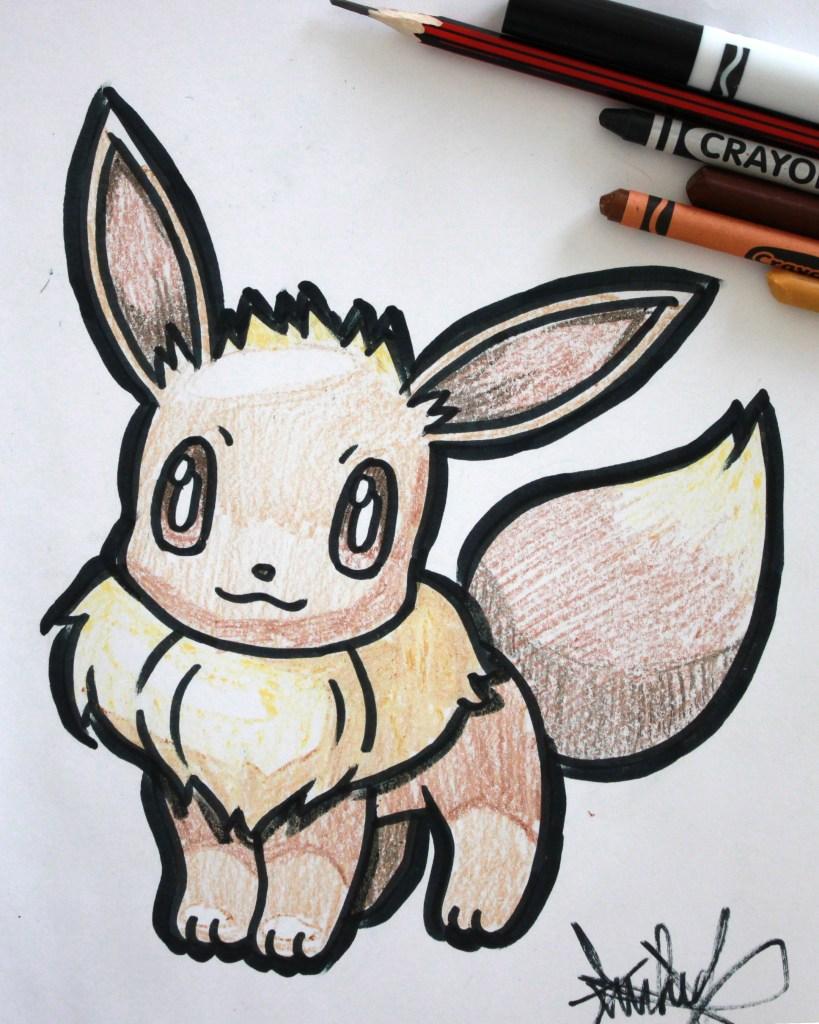 Eevee Drawing