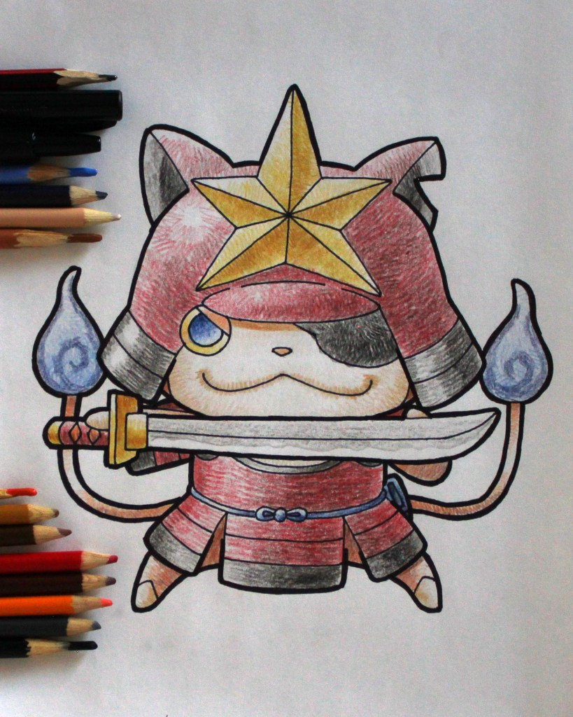 Nyanmurai Drawing