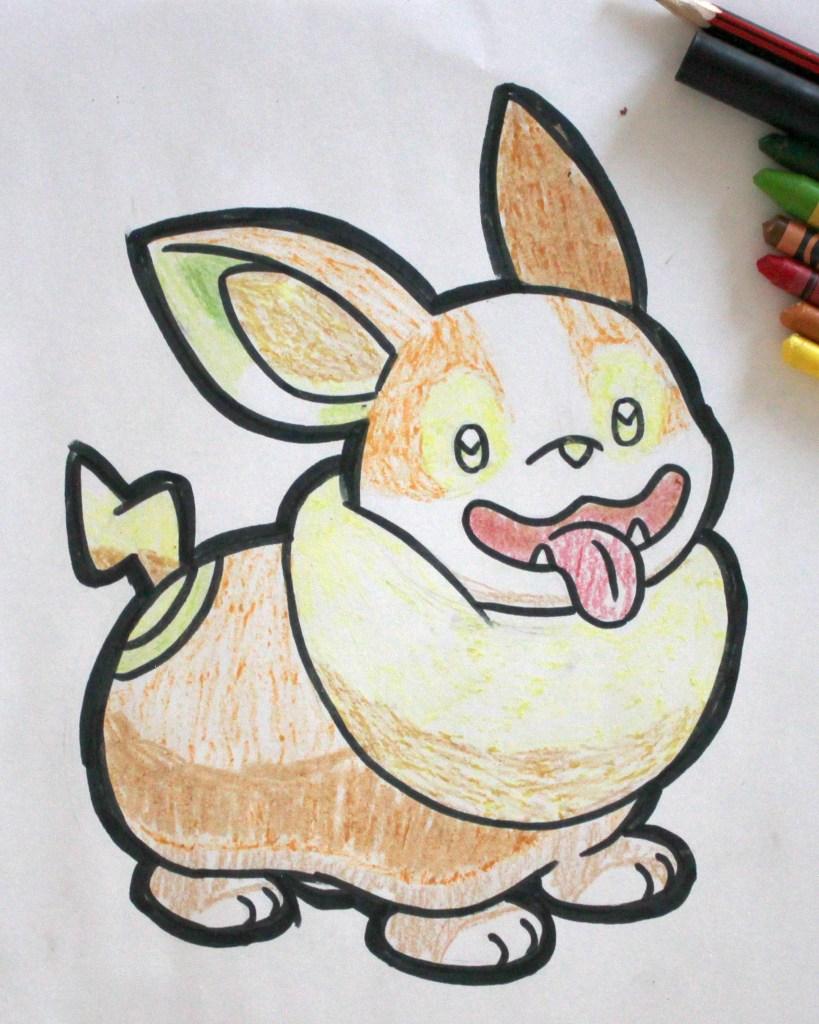 Yamper Drawing