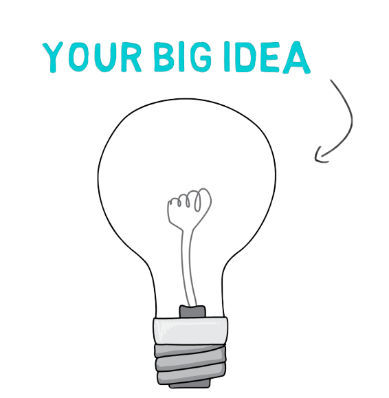 whiteboard animation video lightbulb